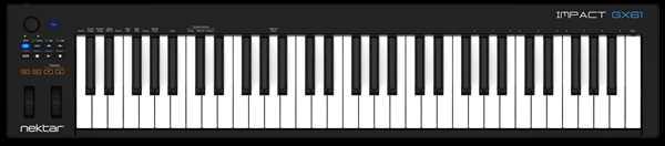 Nektar Impact GX61 Midi-Keyboard mit 61 Tasten