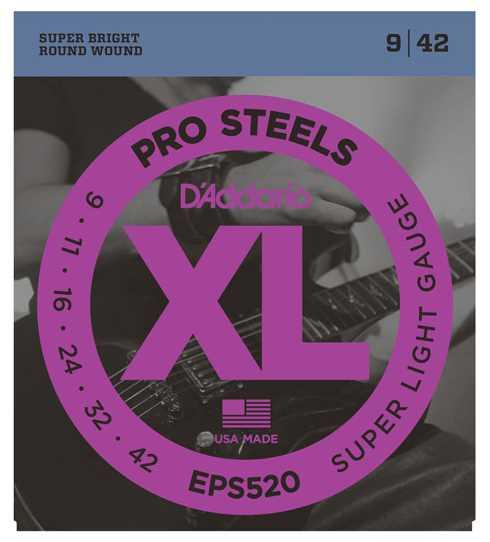 D'Addario Pro Steel EPS-520 009-042