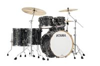 Tama Starclassic Performer B/B Charcoal Swirl 22/10/12/14FT/16FT Shell Set ohne Snare EFX  PR52TLBNS