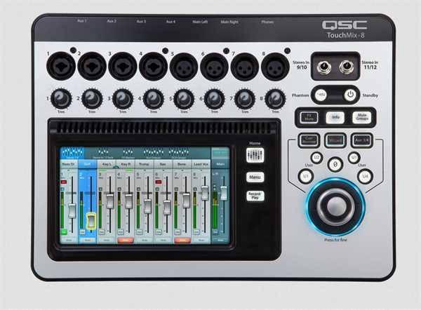 QSC Touch Mix-8 Digitalmixer