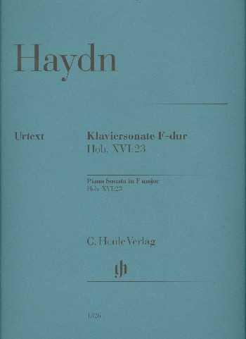 Franz Joseph Haydn Sonate F-Dur Hob.XVI:23 : für Klavier