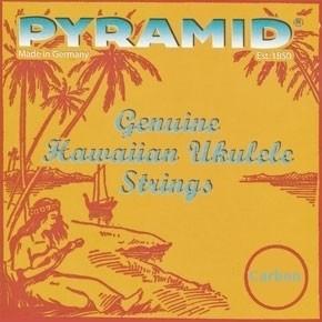 Pyramid Saitensatz für Konzert-Ukulele Carbon low G
