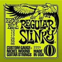 """Ernie Ball """"Regular Slinky"""" Saitenset 010-046"""