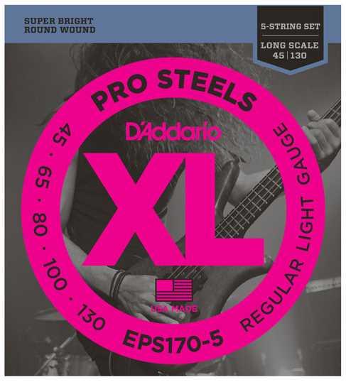 D'Addario EPS-170-5 045-130