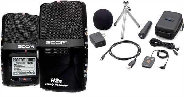 Zoom H2N Handy Recorder APH2n Bundle