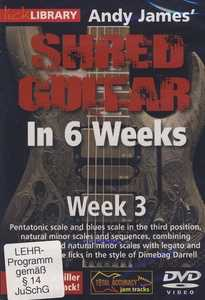 James Shred Guitar 6 Weeks WK 3 DVD