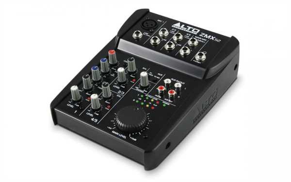 Alto ZMX 52 Mixer mit Phantomspeisung
