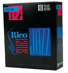 Rico Select Jazz 3H (unfiled) Altsax
