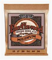 Ernie Ball Earthwood Phosphor Bronze Medium 2144 013-056