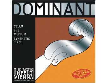 Thomastik Dominant Cello 3/4 Mittel 147 SATZ
