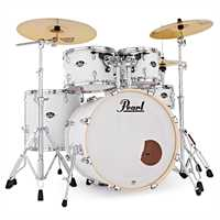 "Pearl Export 22"" Series mit Beckensatz Matt White EXX725SBR C735"