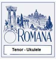 Romana Saiten-Satz für Tenor-Ukulele