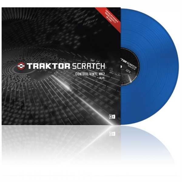 Native Instruments Traktor Control Vinyl MKII blau