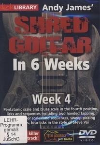 James Shred Guitar 6 Weeks WK 4 DVD