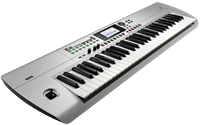 Korg i3 SV Music-Workstation silber