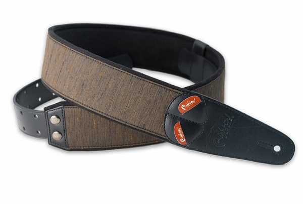 RightOn Straps Mojo Boxeo Brown Gitarrengurt