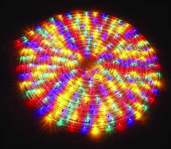 Rubberlight / Lichtschlauch 9m MULTICOLOR