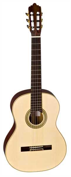 La Mancha Esmeralda Konzertgitarre 4/4 Fichte massiv