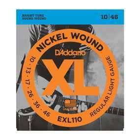 D'Addario EXL-110 Saitenset 010-046