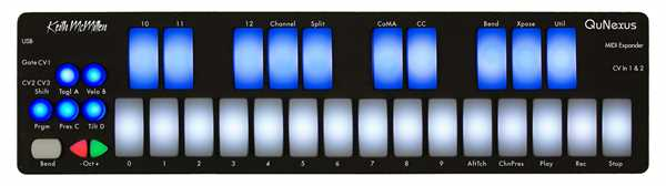 Keith McMillen Instruments QuNexus 3D Multi-touch Pad Controller