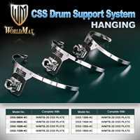 World Max Tomhaltesystem DSS-1006-4 brass