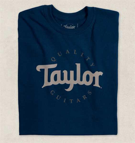 Taylor Wear Two-Color-Logo-T Größe L