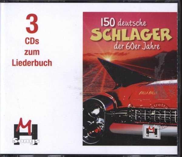 CD 150 deutsche Schlager der 60 Ja