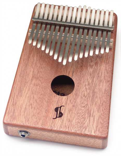 Stagg Kalimba Mahagonie 17 Keys mit Pickup