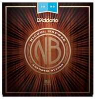 D'Addario NB1253 Nickel-Bronze Westerngitarrensaiten 012-053