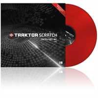 Native Instruments Traktor Control Vinyl MKII rot