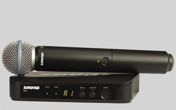 Shure Analoges BLX 24E/Beta58 Mikrofon-Funksystem S8