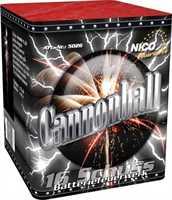 Nico Cannonball 16 Schuss 35 Sek. 40m Kaliber 30