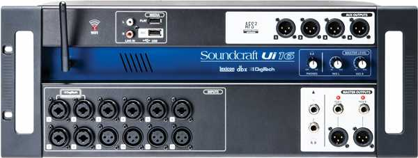Soundcraft UI 16 Digitalmixer