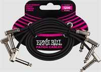 Ernie Ball Patchkabel 6222 gewinkelt/gewinkelt 30cm 3er Pack