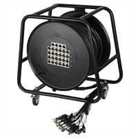 ah Cables - Multicore auf Trommel mit Stagebox 24/4 (30m)