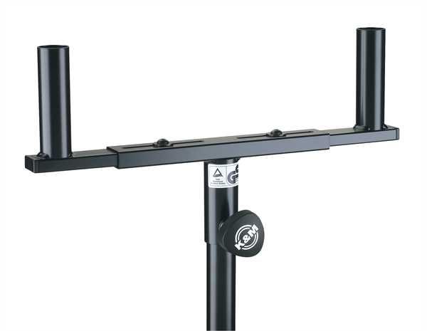 K+M Boxengabel verstellbar 120mm schwarz