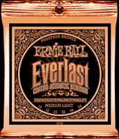 """Ernie Ball """"Everlast Coated Phos. Bronze med."""" Westerngitarren Saitenset 013-056"""