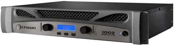 Crown XTI 1002 Endstufe 2x500W an 4 Ohm