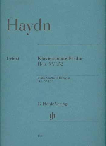 Franz Joseph Haydn Sonate Es-Dur Hob.XVI:52 : für Klavier