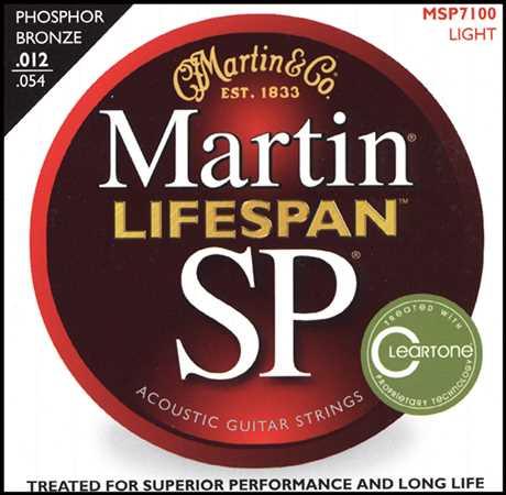 Martin SP-7100 Lifespan Akustik-Saitenset 012-054