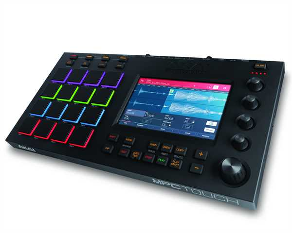 Akai MPC Touch Grooveproduction-Center