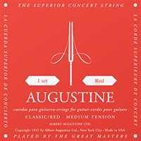 Augustine D4 rot (medium tension) Einzelsaite für Konzertgitarre