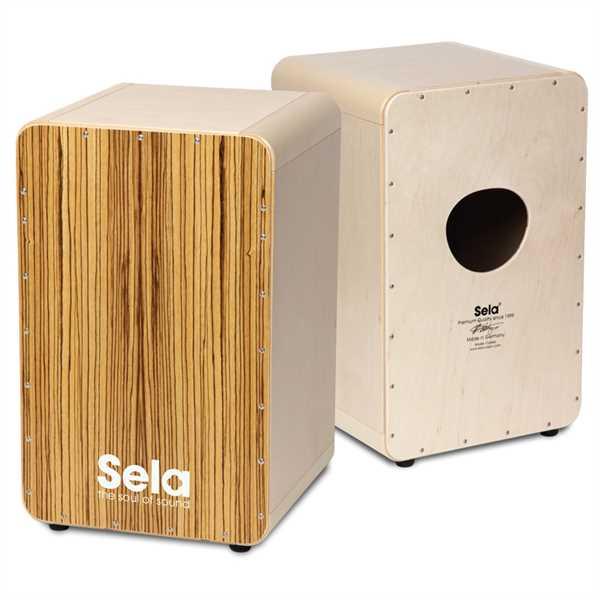 Sela® CaSela Zebrano Professional Snare Cajon