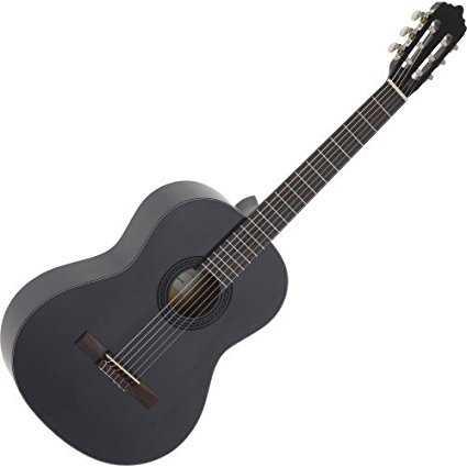 La Mancha Rubinito Negro CM Konzertgitarre 4/4 Zeder massiv