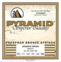 Pyramid 013-056 Phosphor Bronze Akustik-Gitarren Saiten