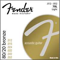 Fender 70L Saitenset 80/20 Bronze 012-052