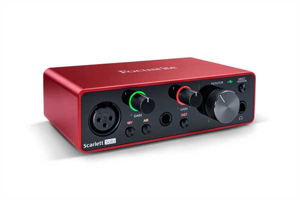 Focusrite Scarlett Solo 3rd Gen Audio Interface