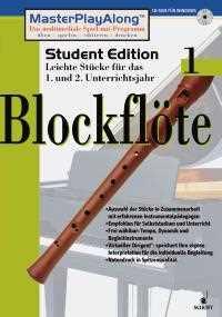 MasterPlayAlong Student Edition 1 Blockflöte