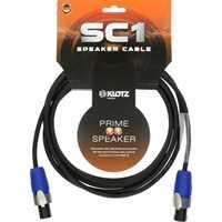 Klotz Lautsprecherkabel mit Speakon-Steckern 1m