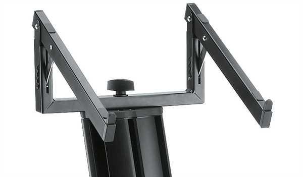 K+M 18868 Laptopablage für Spider Pro schwarz